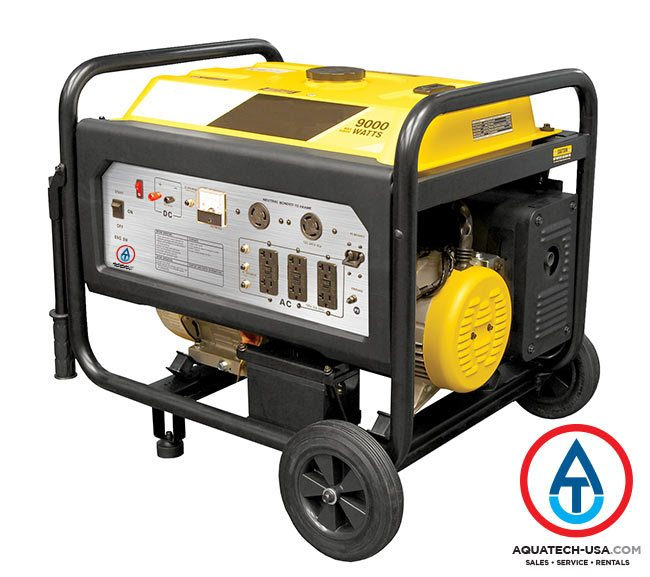 Generator Rentals | Generators For Rent | AQUATECH-USA com