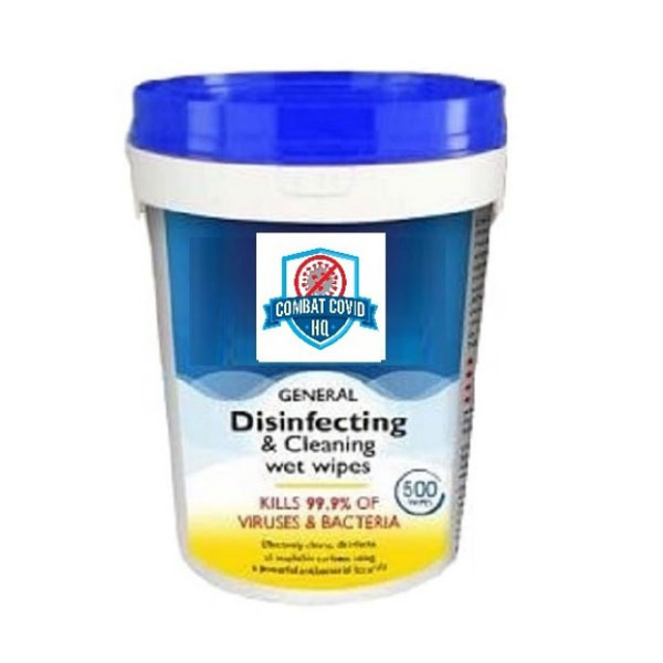 Disinfecting & Cleaning Wet Wipes