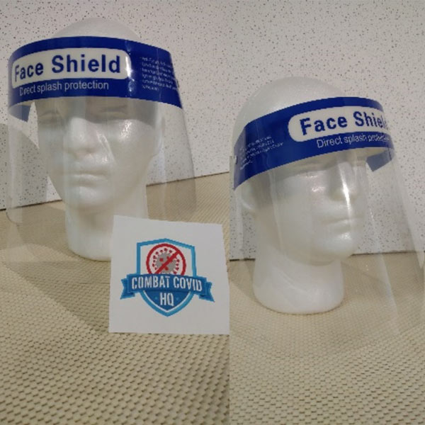 Plastic Clear Protective Face Shield